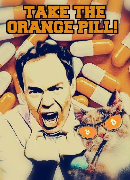 take the orange pill