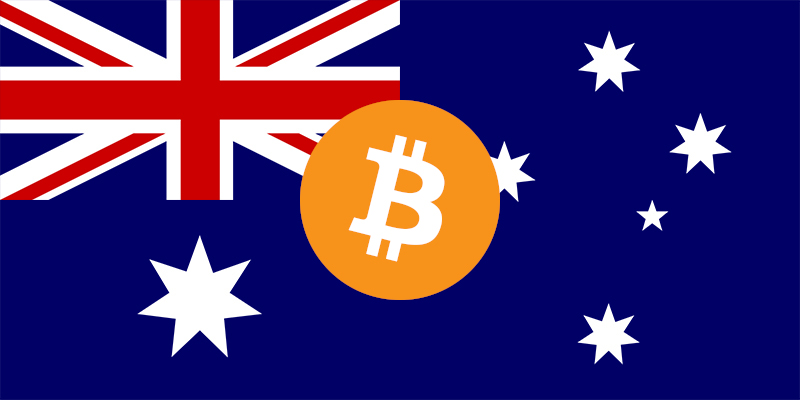 Australian Bitcoin Flag