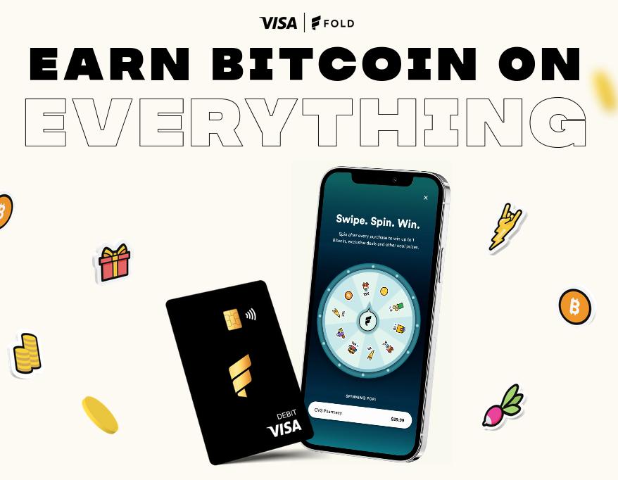 earn bitcoin on fold
